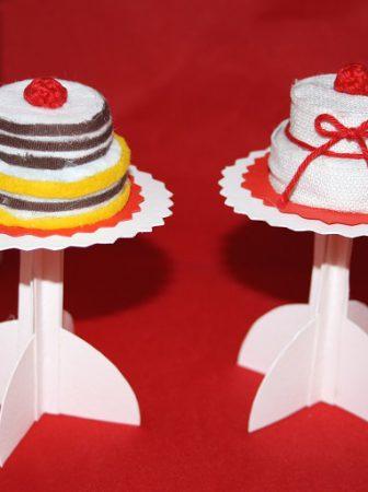 Tutorial Mini torte e Cake Stand
