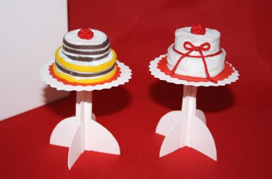 Tutorial Mini torte e Cake Stand
