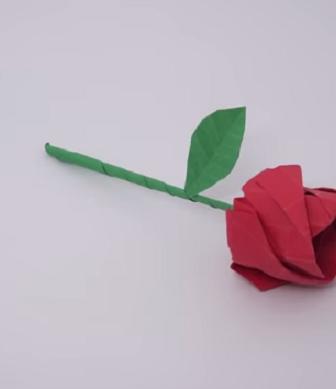 Rosa origami