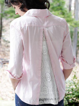 Refashion, una vecchia camicia rimessa a nuovo