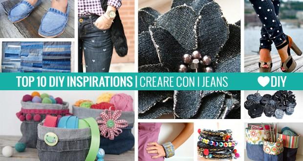 Ufficio Fai Da Te Jeans : 10 ispirazioni u2013 creare con i jeans passion diy