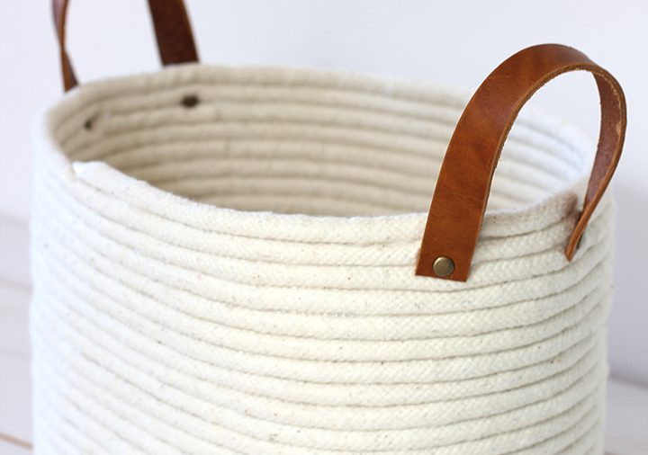 Cesto porta lana senza cuciture