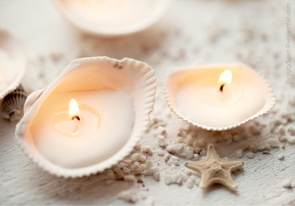 candele-conchiglia-fai-da-te