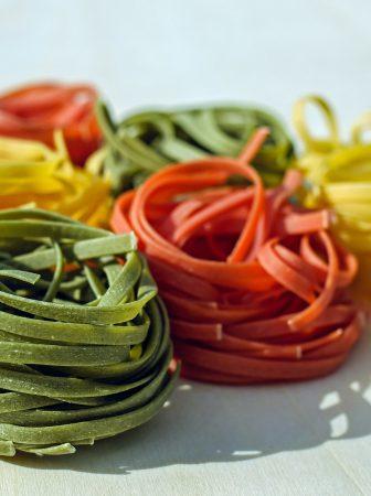 Pasta fresca colorata…molto più che gustosa!