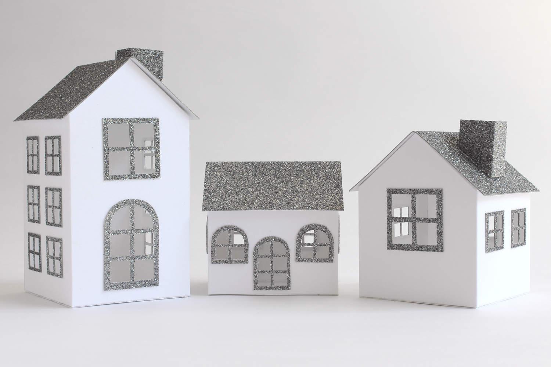 addobbi di carta 10 idee per il natale passion diy. Black Bedroom Furniture Sets. Home Design Ideas
