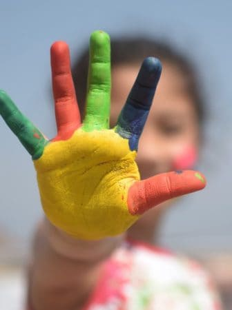 Come creare colori a dita fai da te